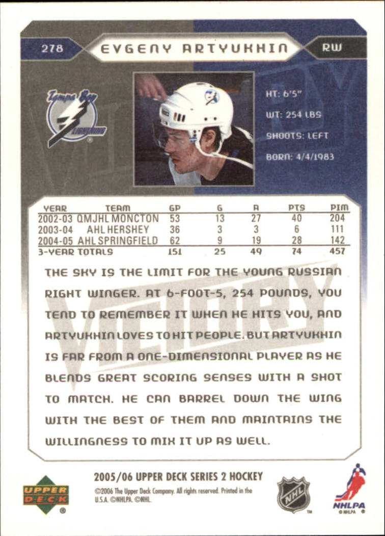 2005-06-Upper-Deck-Victory-Hockey-YOU-PICK thumbnail 150