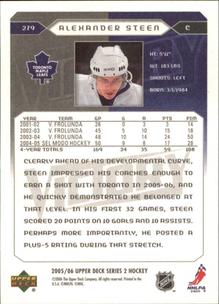 2005-06-Upper-Deck-Victory-Hockey-YOU-PICK thumbnail 152
