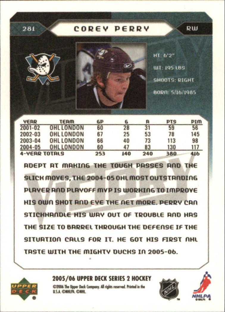 2005-06-Upper-Deck-Victory-Hockey-YOU-PICK thumbnail 156