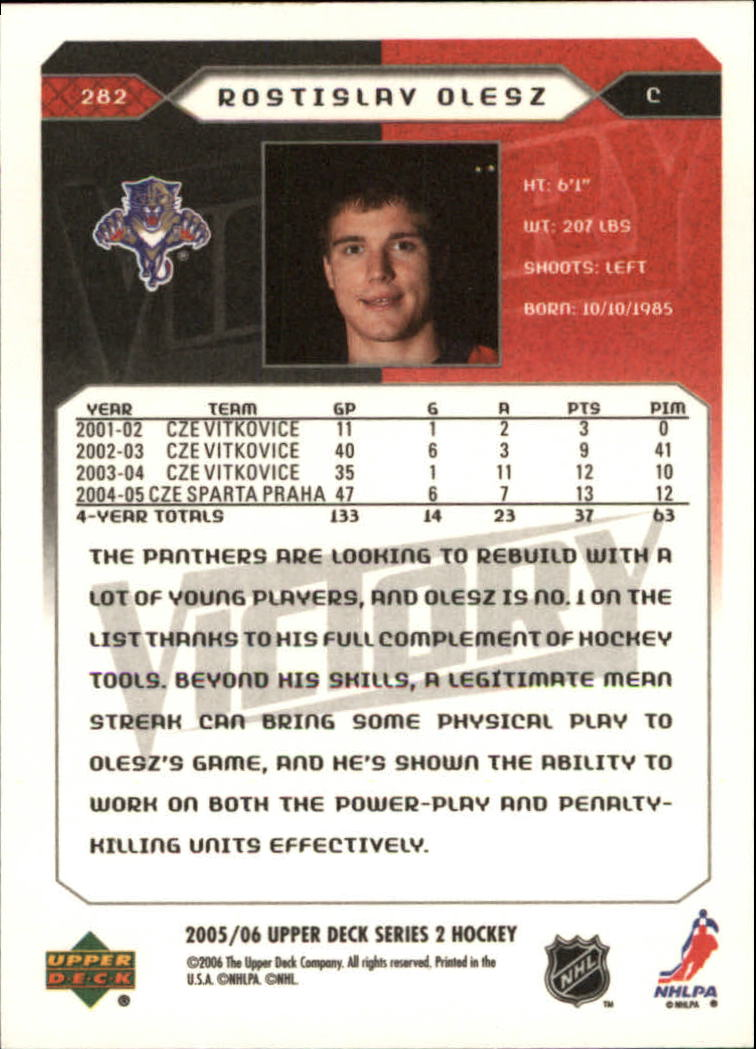 2005-06-Upper-Deck-Victory-Hockey-YOU-PICK thumbnail 158