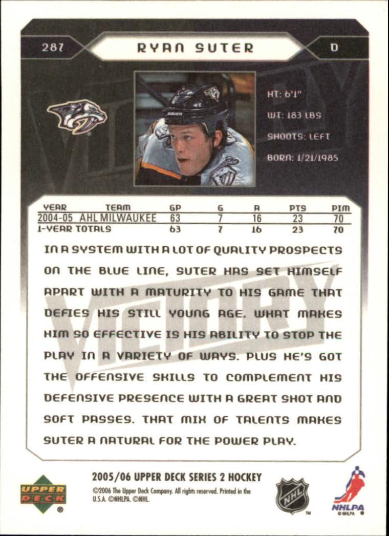 2005-06-Upper-Deck-Victory-Hockey-YOU-PICK thumbnail 166