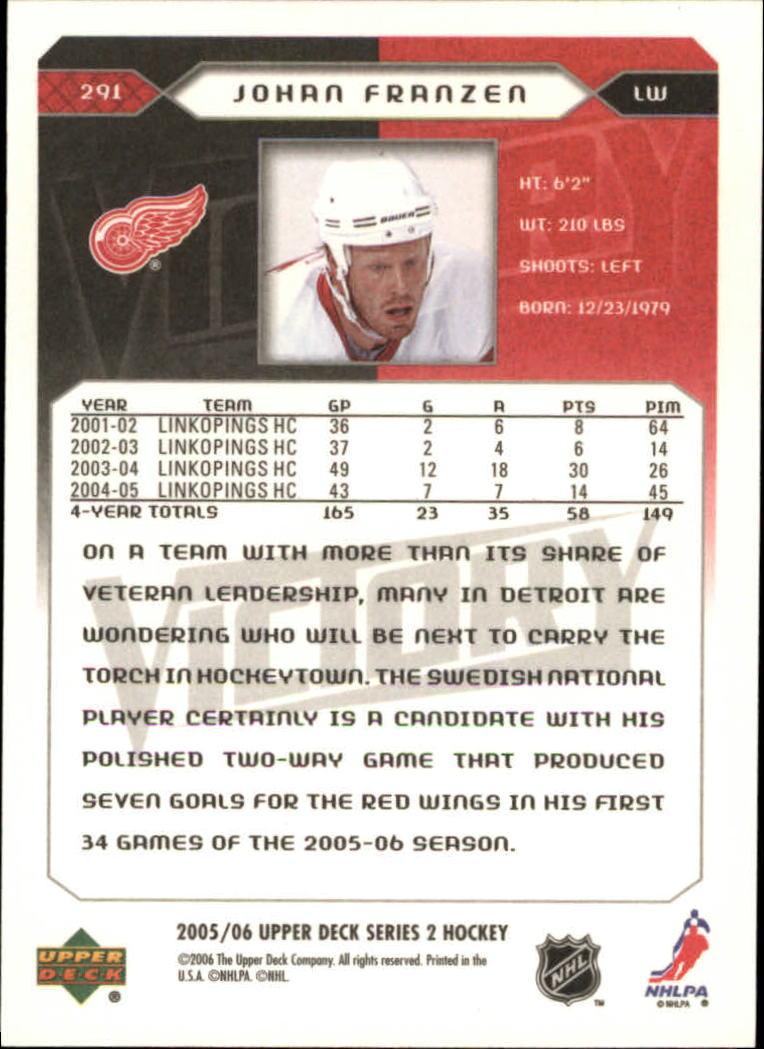 2005-06-Upper-Deck-Victory-Hockey-YOU-PICK thumbnail 174
