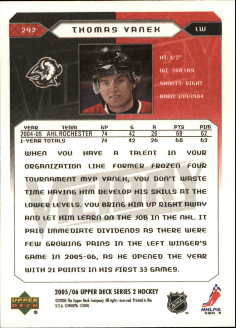 2005-06-Upper-Deck-Victory-Hockey-YOU-PICK thumbnail 176