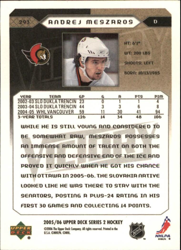2005-06-Upper-Deck-Victory-Hockey-YOU-PICK thumbnail 178