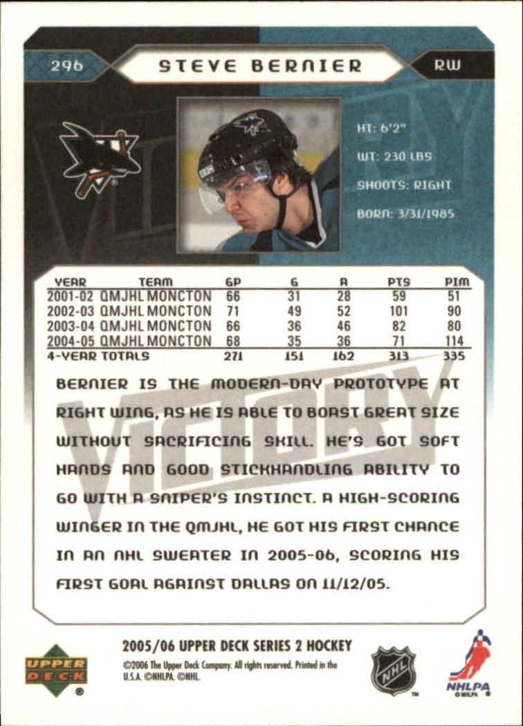 2005-06-Upper-Deck-Victory-Hockey-YOU-PICK thumbnail 184