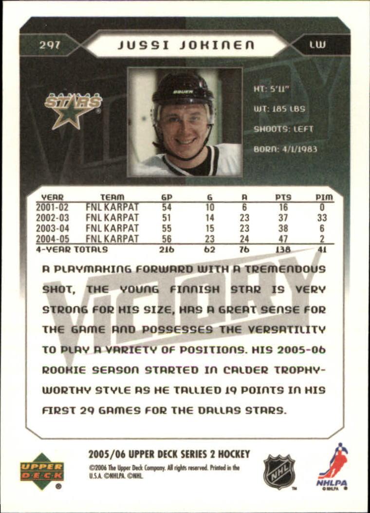 2005-06-Upper-Deck-Victory-Hockey-YOU-PICK thumbnail 186