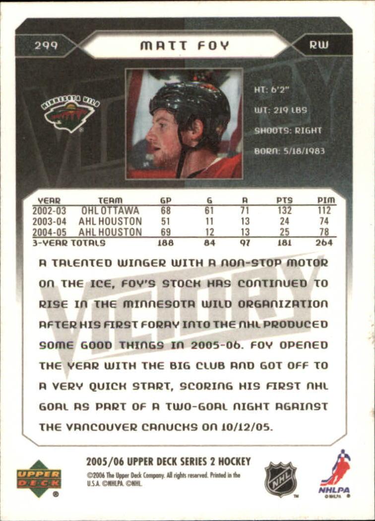 2005-06-Upper-Deck-Victory-Hockey-Card-Pick thumbnail 404
