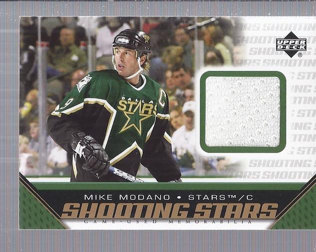 2005-06 Upper Deck Shooting Stars Jerseys #SMMO Mike Modano