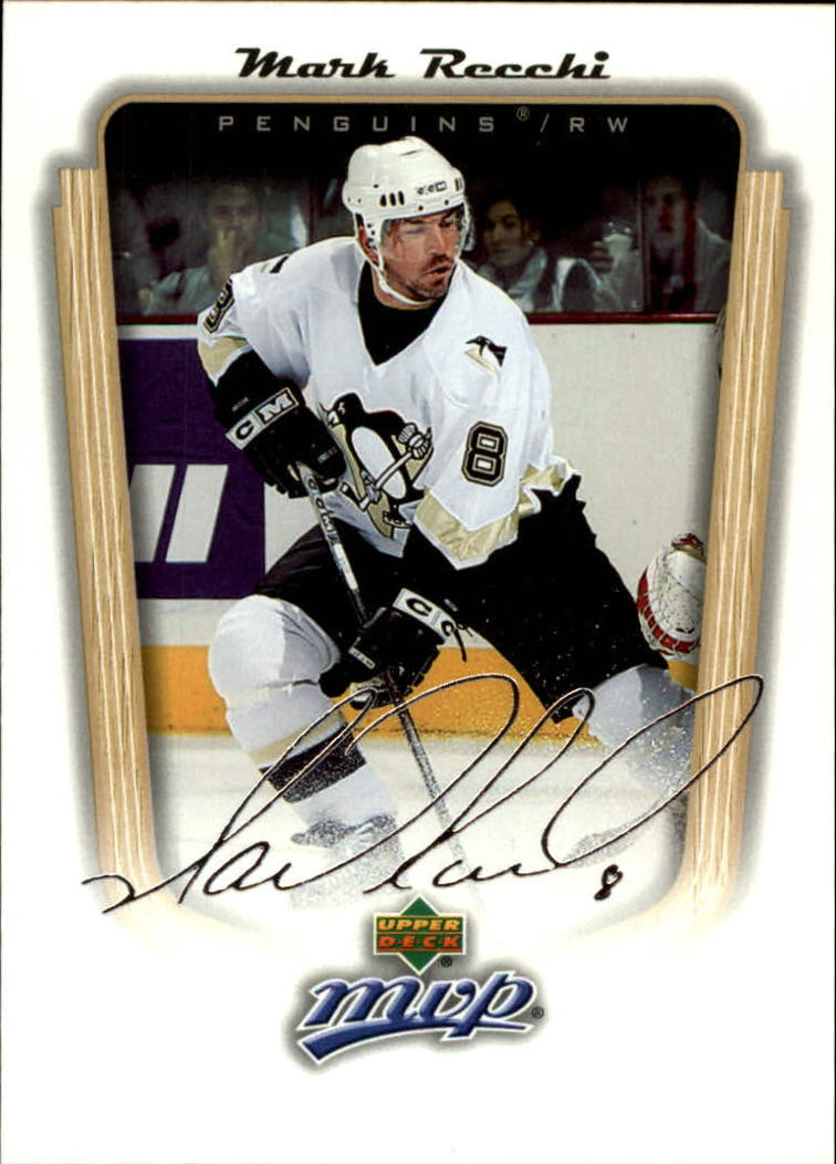 2005-06 Upper Deck MVP #313 Mark Recchi