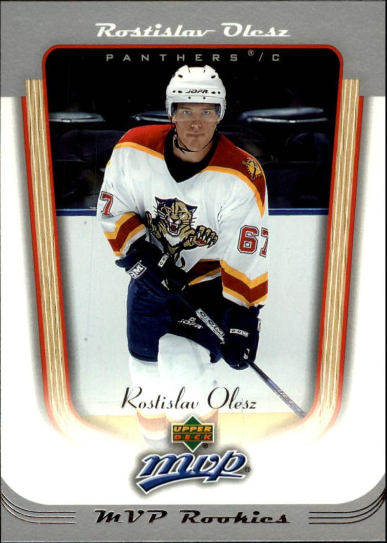 2005-06 Upper Deck MVP #416 Rostislav Olesz RC