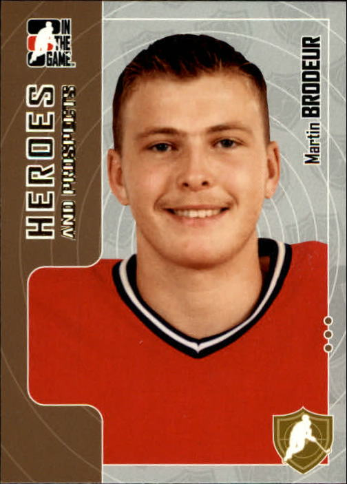 2005-06 ITG Heroes and Prospects #1 Martin Brodeur