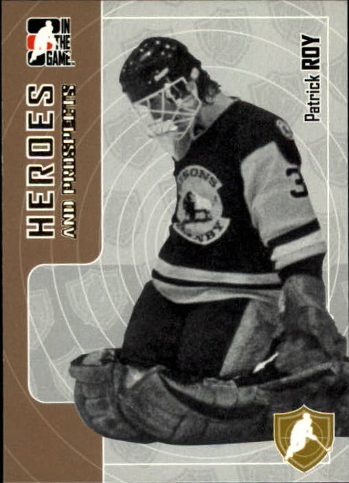 2005-06 ITG Heroes and Prospects #33 Patrick Roy