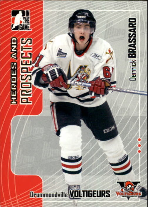 2005-06 ITG Heroes and Prospects #135 Derick Brassard