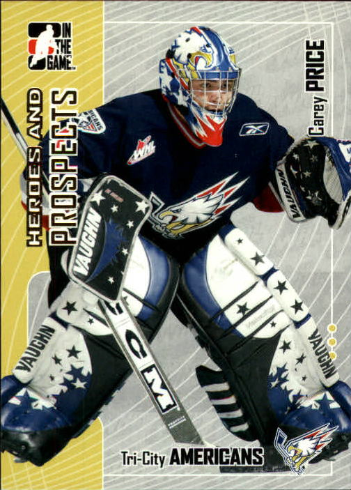 2005-06 ITG Heroes and Prospects #157 Carey Price