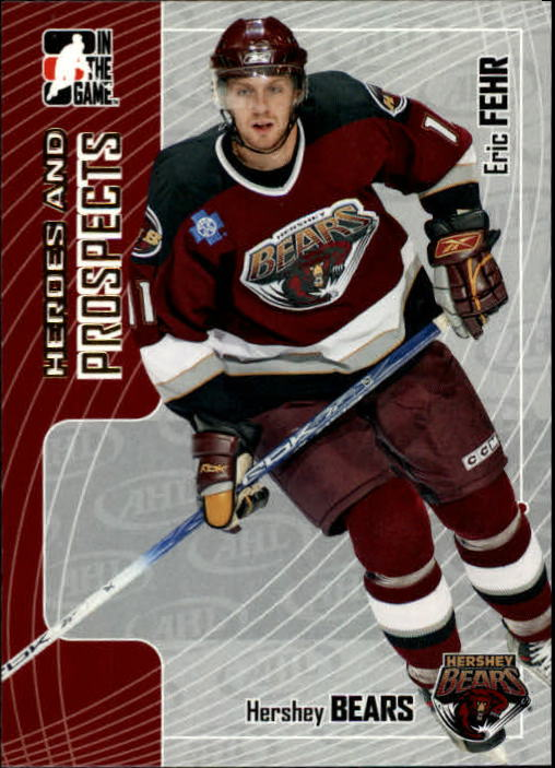 2005-06 ITG Heroes and Prospects #214 Eric Fehr