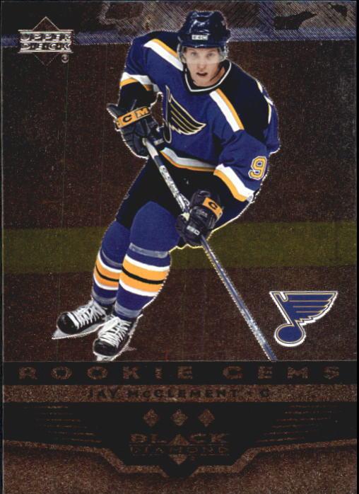 2005-06 Black Diamond #157 Jay McClement RC