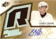 2005-06 SPx #191 Sidney Crosby JSY AU/499 RC