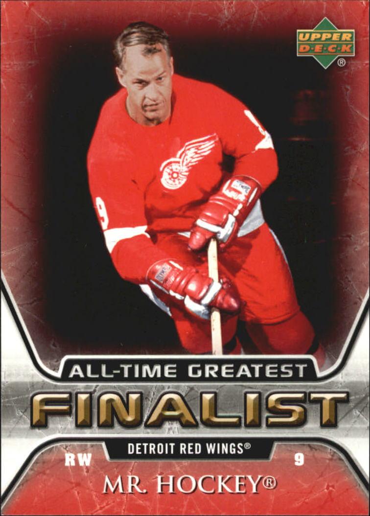 2005-06 Upper Deck All-Time Greatest #21 Gordie Howe