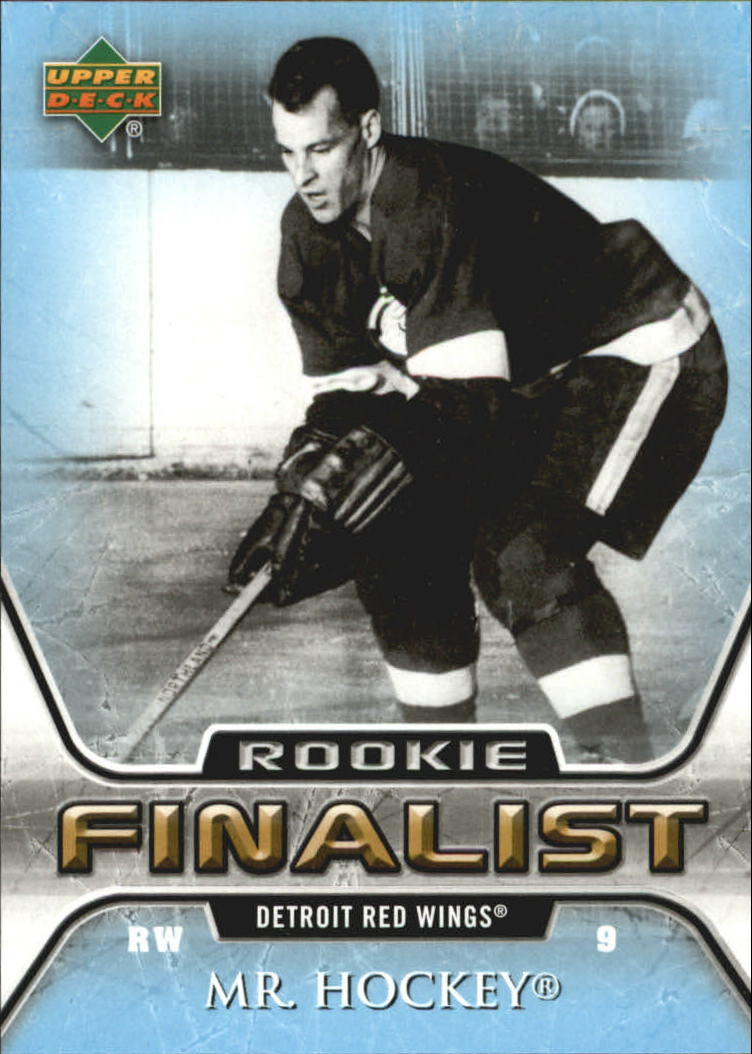 2005-06 Upper Deck All-Time Greatest #70 Gordie Howe
