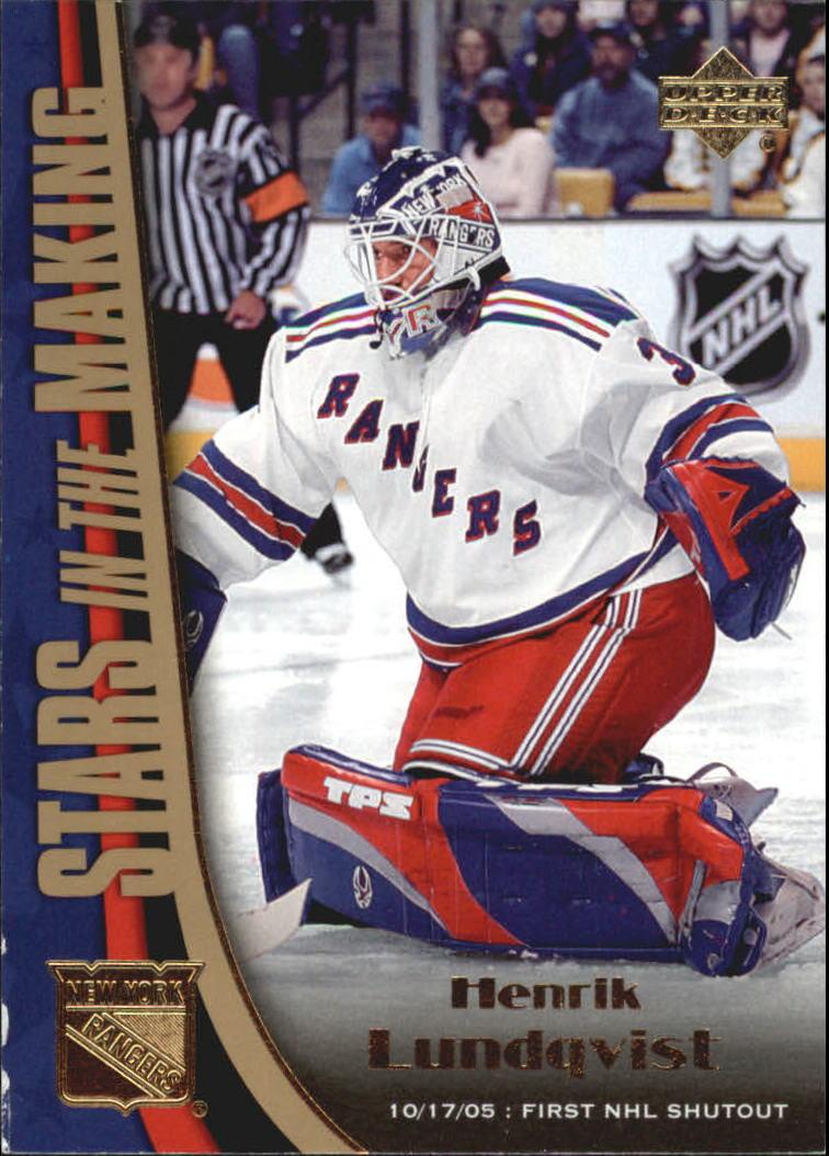 2005-06 Upper Deck Stars in the Making #SM6 Henrik Lundqvist