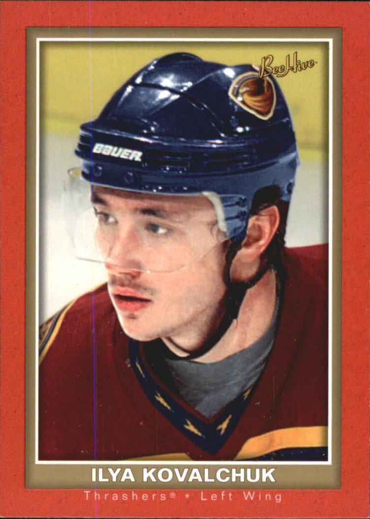 2005-06 Beehive Red  #4 Ilya Kovalchuk
