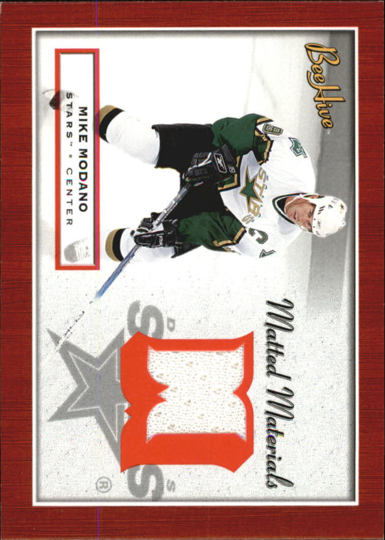 2005-06 Beehive Matted Materials #MMMM Mike Modano