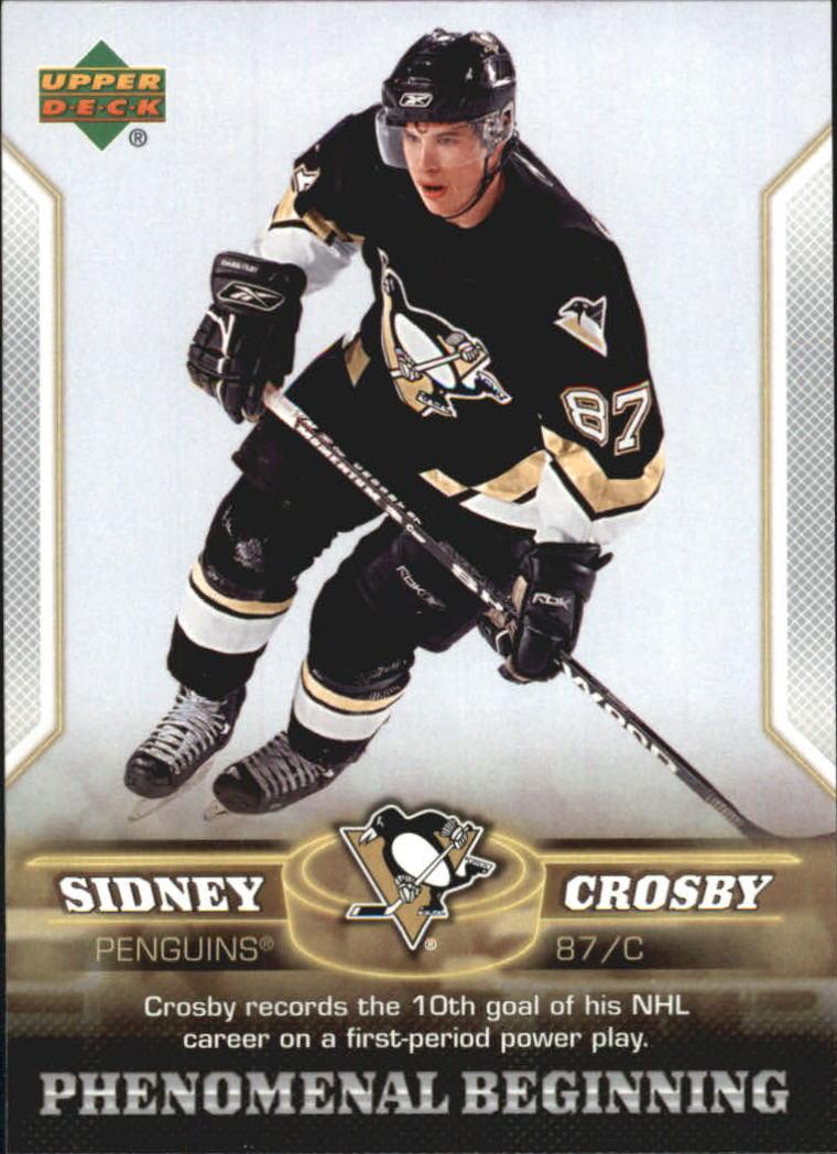 2005-06 Upper Deck Phenomenal Beginnings #11 Sidney Crosby