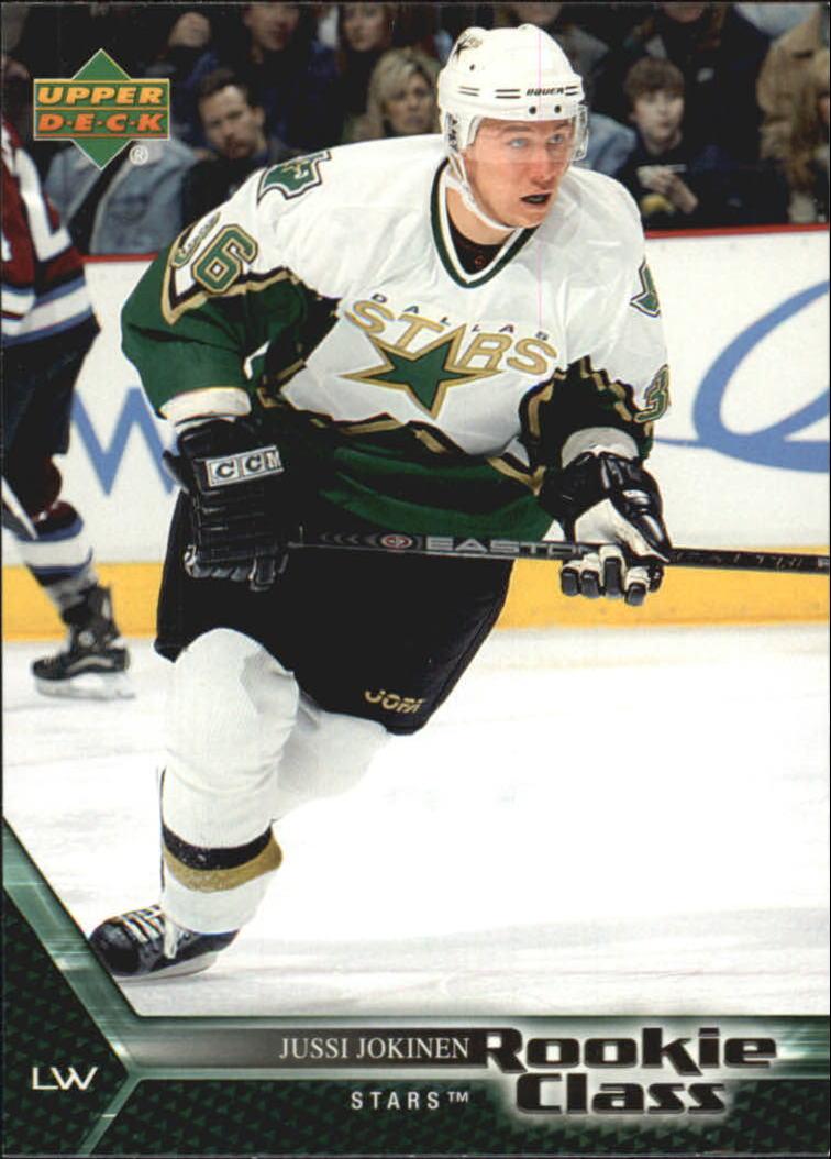 2005-06 UD Rookie Class #8 Jussi Jokinen