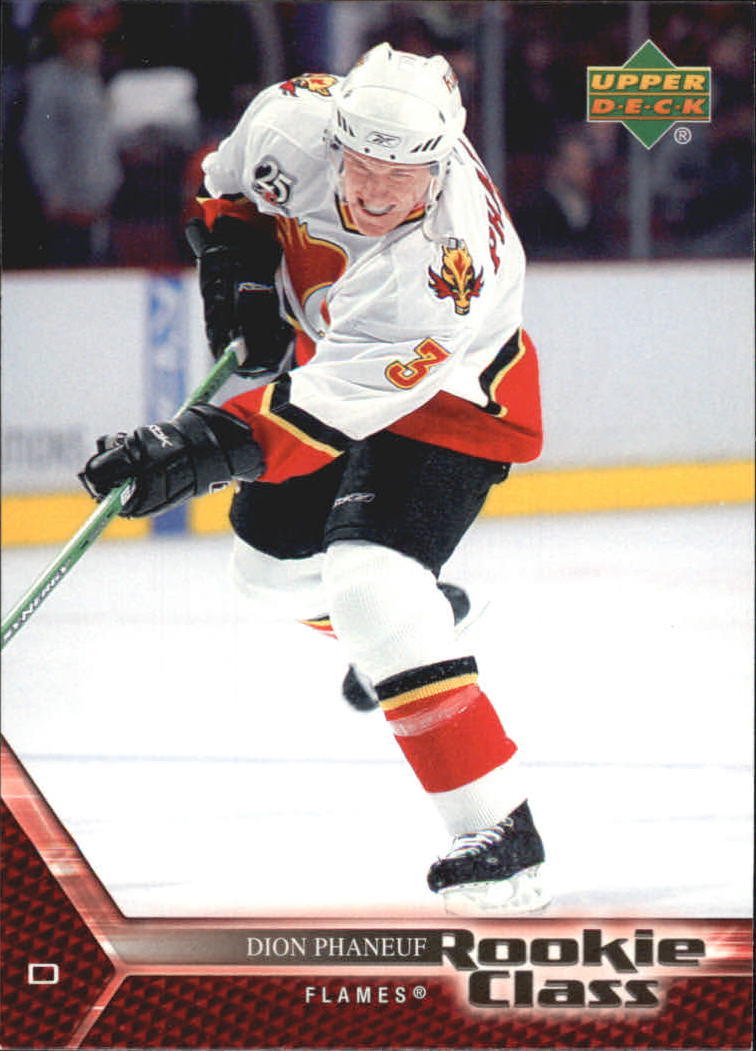 2005-06 UD Rookie Class #9 Dion Phaneuf