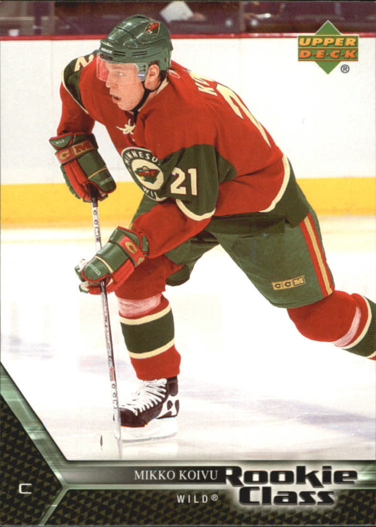 2005-06 UD Rookie Class #36 Mikko Koivu