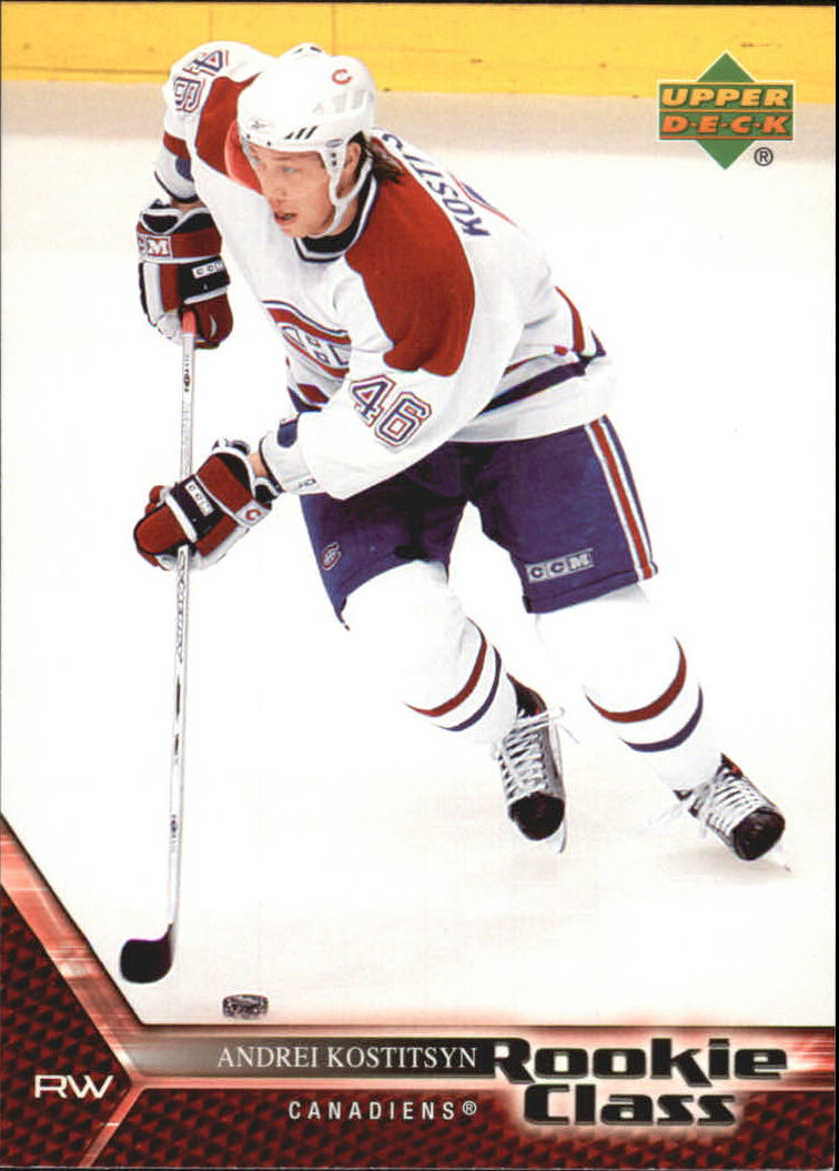 2005-06 UD Rookie Class #48 Andrei Kostitsyn