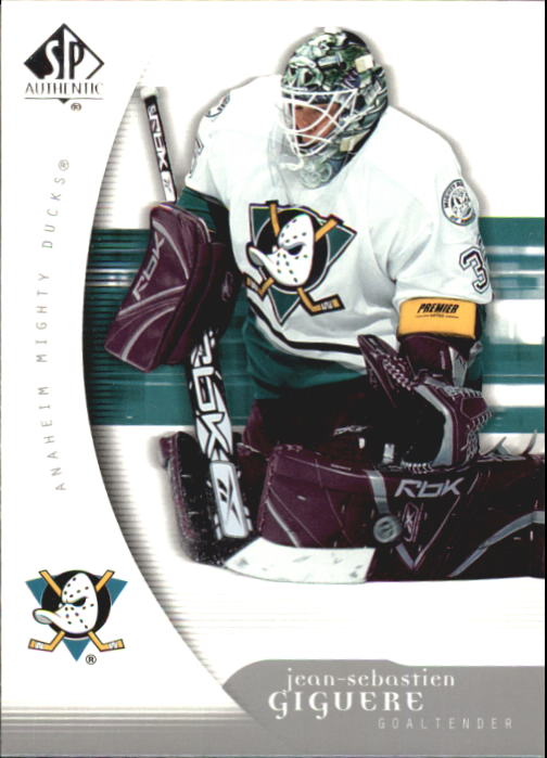 2005-06 SP Authentic #1 Jean-Sebastien Giguere