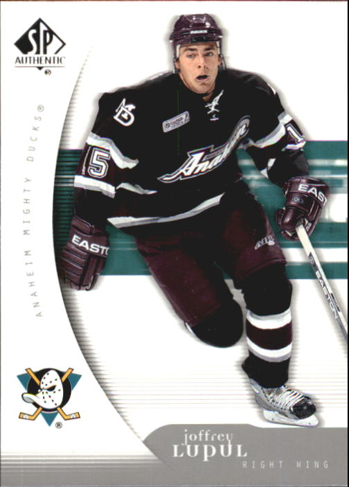 2005-06 SP Authentic #2 Joffrey Lupul