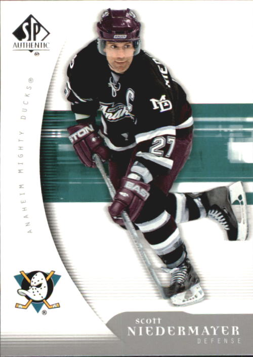 2005-06 SP Authentic #4 Scott Niedermayer