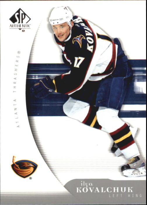2005-06 SP Authentic #5 Ilya Kovalchuk