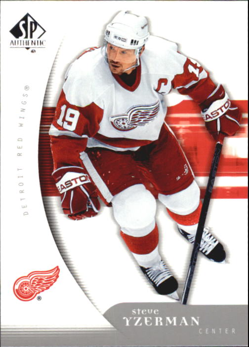 2005-06 SP Authentic #35 Steve Yzerman