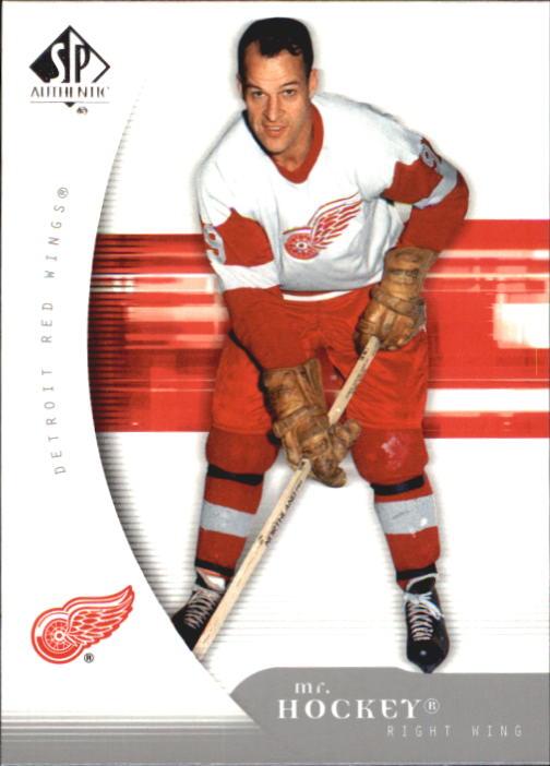 2005-06 SP Authentic #38 Gordie Howe