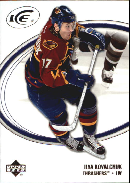 2005-06 Upper Deck Ice #5 Ilya Kovalchuk