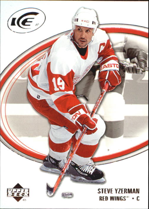 2005-06 Upper Deck Ice #31 Steve Yzerman