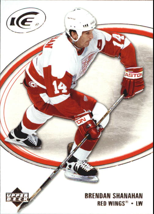 2005-06 Upper Deck Ice #33 Brendan Shanahan
