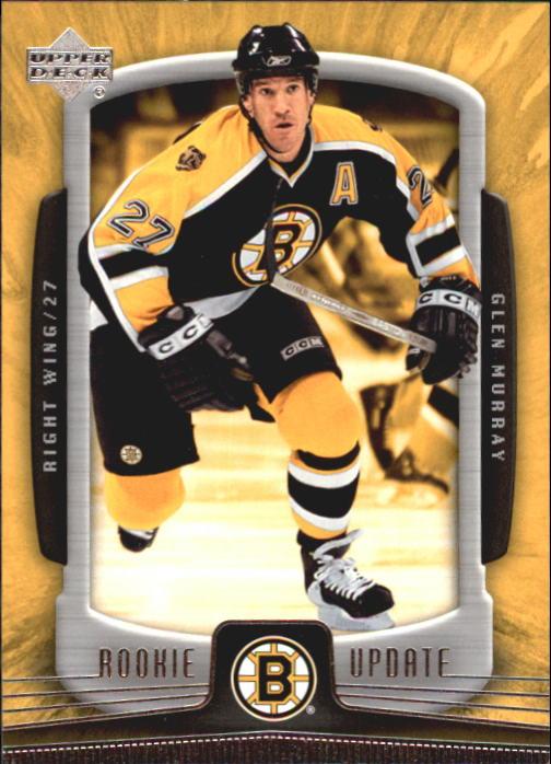 2005-06 Upper Deck Rookie Update #10 Glen Murray