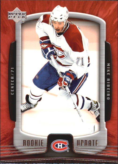 2005-06 Upper Deck Rookie Update #53 Mike Ribeiro