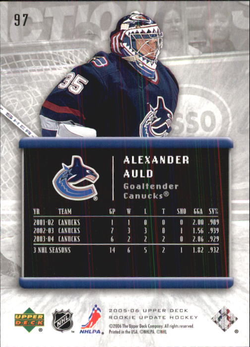 2005-06-Upper-Deck-Rookie-Update-Hockey-Cards-1-100-Pick-From-List