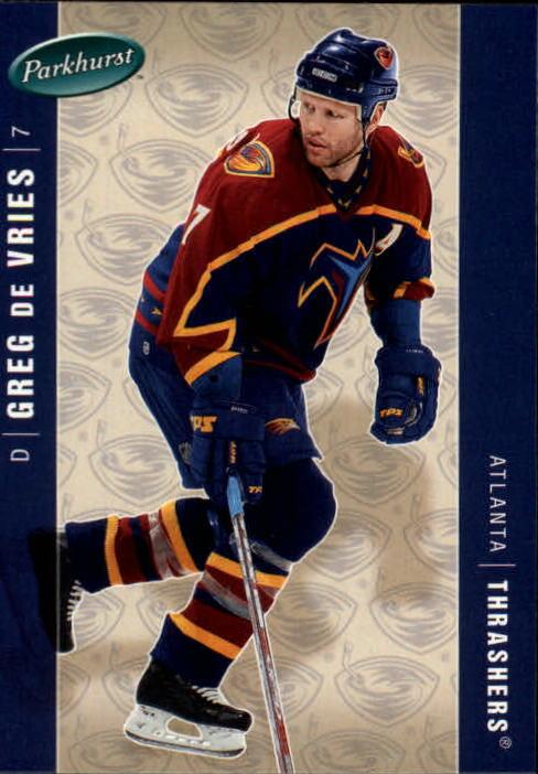 2005-06 Parkhurst #24 Greg de Vries
