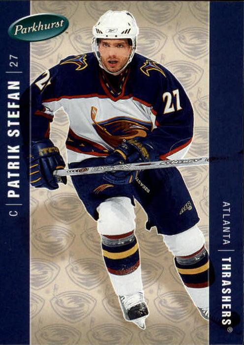 2005-06 Parkhurst #26 Patrik Stefan