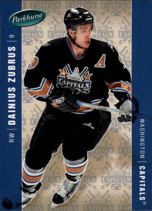 2005-06 Parkhurst #484 Dainius Zubrus