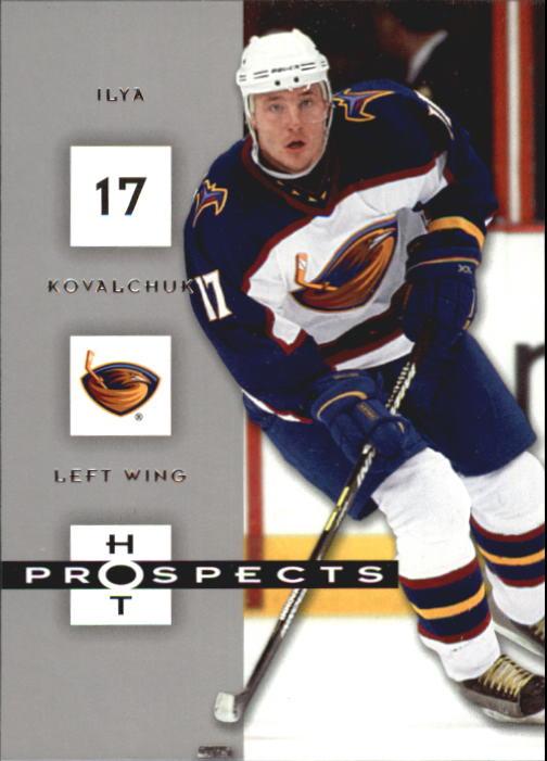 2005-06 Hot Prospects #5 Ilya Kovalchuk
