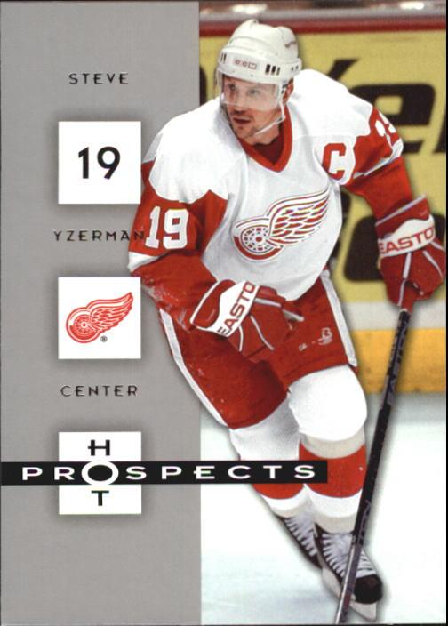 2005-06 Hot Prospects #33 Steve Yzerman