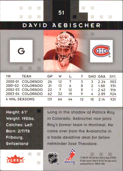 2005-06-Hot-Prospects-Hockey-Card-Pick thumbnail 99