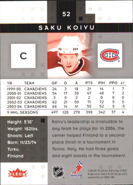 2005-06-Hot-Prospects-Hockey-Card-Pick thumbnail 101